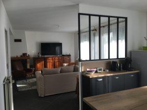 Travaux de réaménagement d'une maison